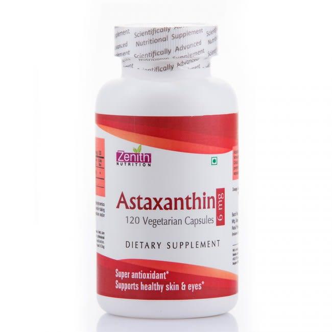 Zenith Nutrition Astaxanthin 6mg Capsule