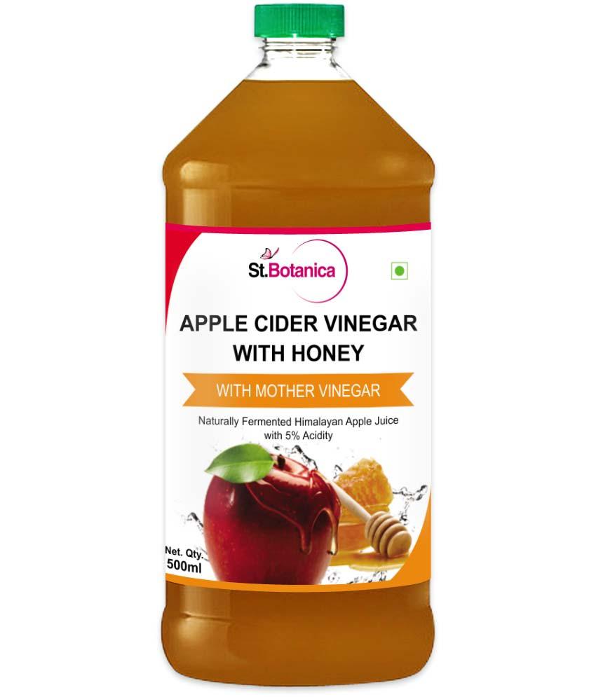 St.Botanica Apple Cider Vinegar with Honey with Mother Vinegar
