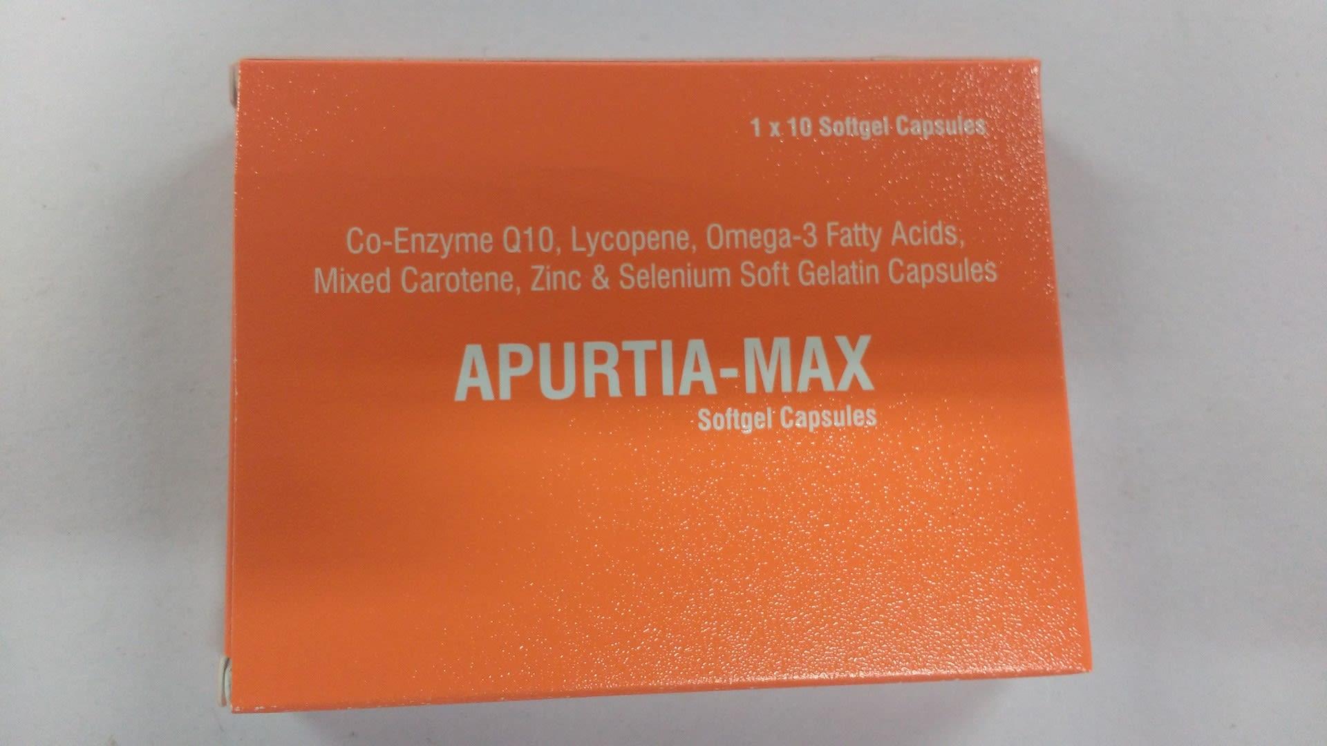 Apurtia-Max Soft Gelatin Capsule