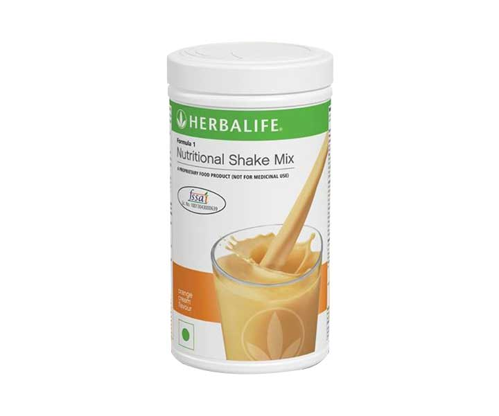 Herbalife Formula 1 Nutritional Shake Mix Orange Cream