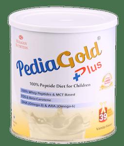 Pediagold Plus Powder Vanilla