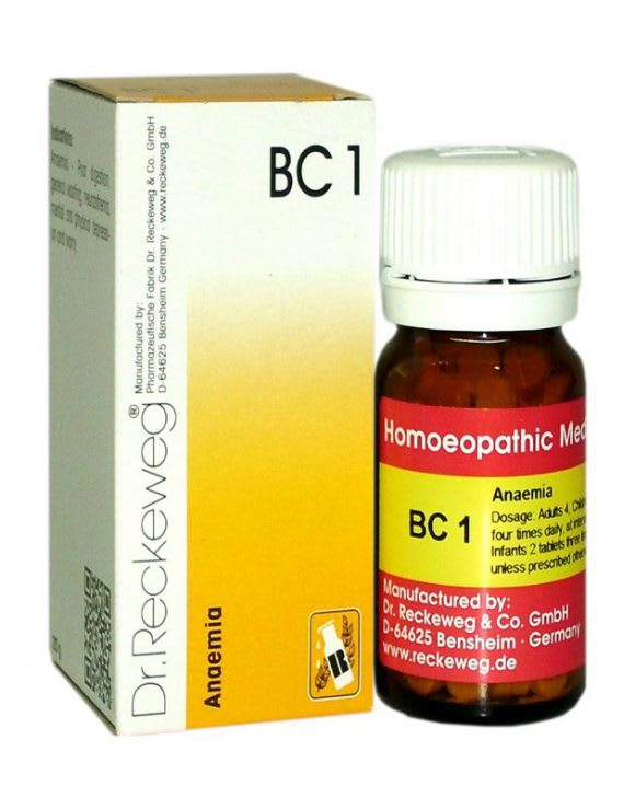 Dr. Reckeweg BC 1 Tablet