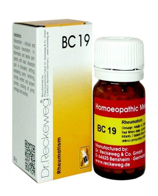 Dr. Reckeweg BC 19 Tablet