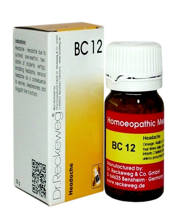 Dr. Reckeweg BC 12 Tablet