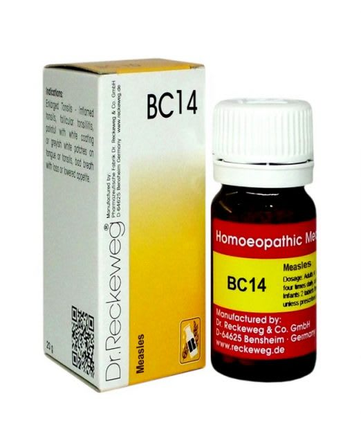 Dr. Reckeweg BC 14 Tablet