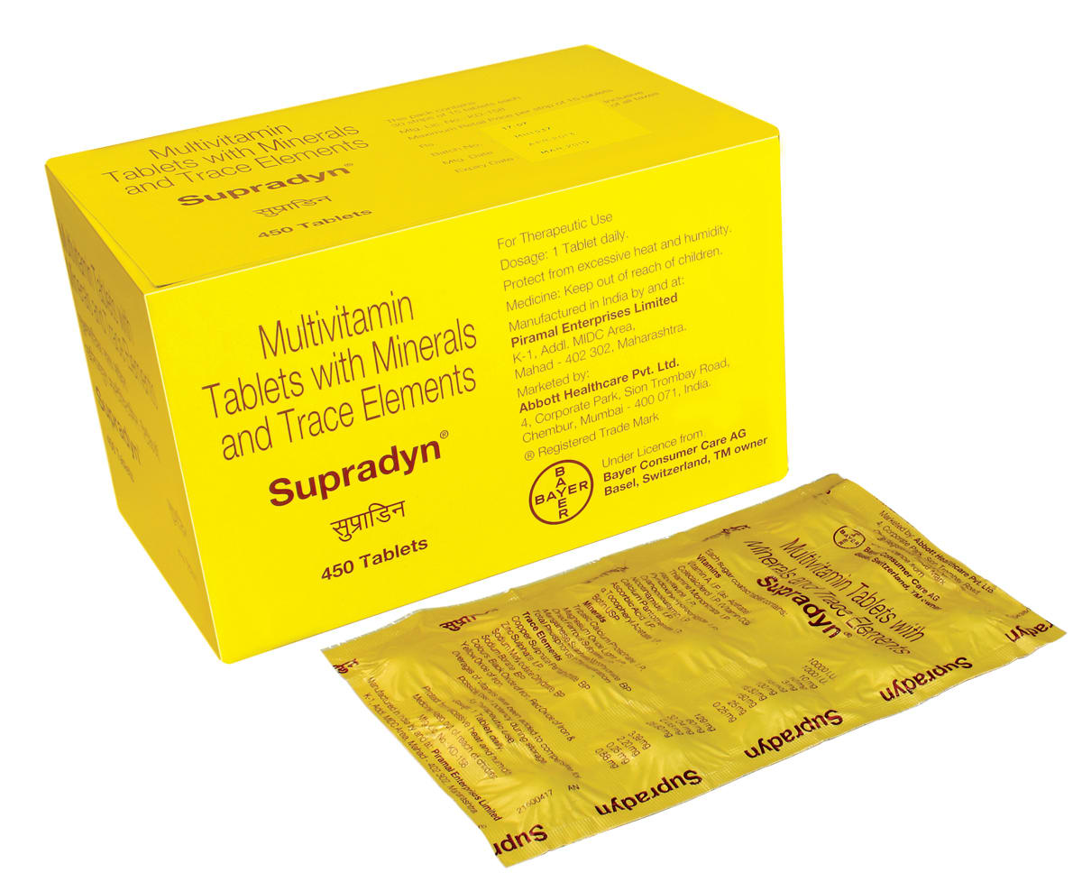 Supradyn tablet: buy supradyn tablet 15 tablets pack ...