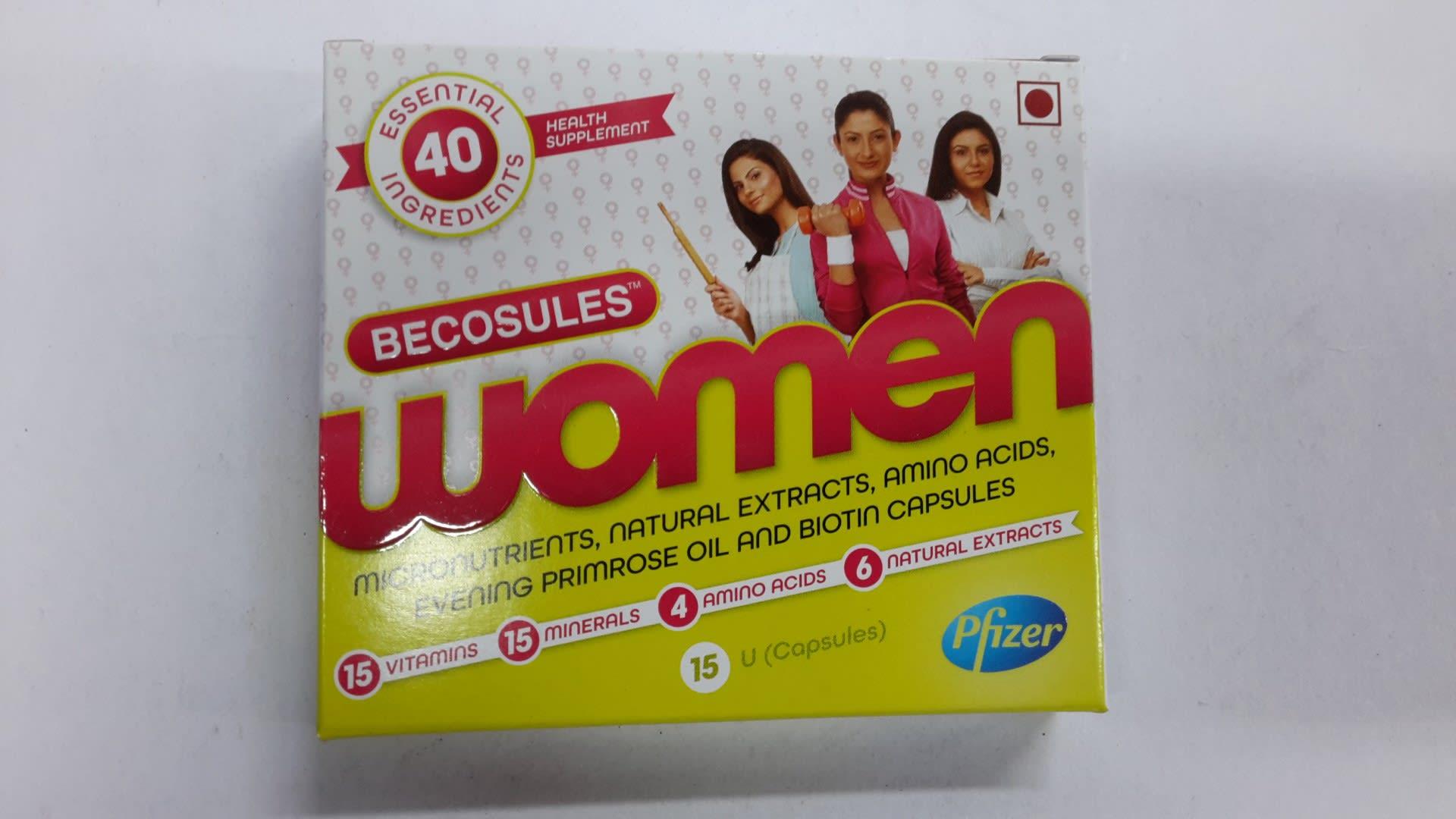 Becosules Women Capsule
