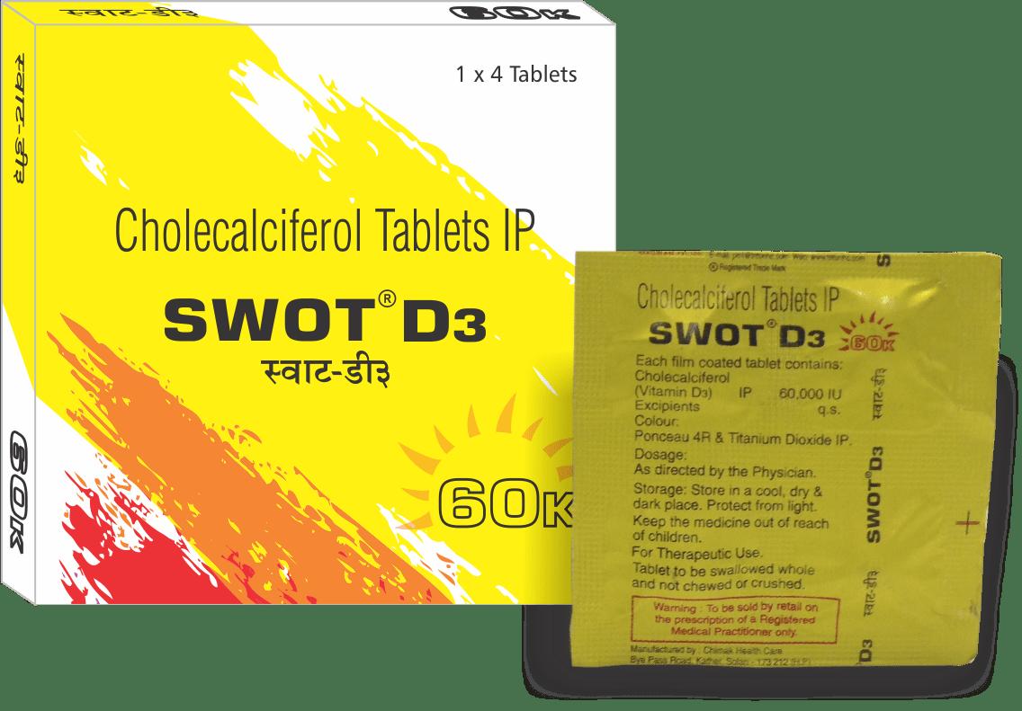 Swot-D3 Tablet