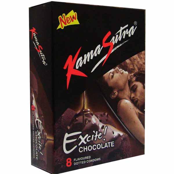 Kamasutra  Excite Condom Chocolate