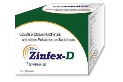 New Zinfex D Capsule