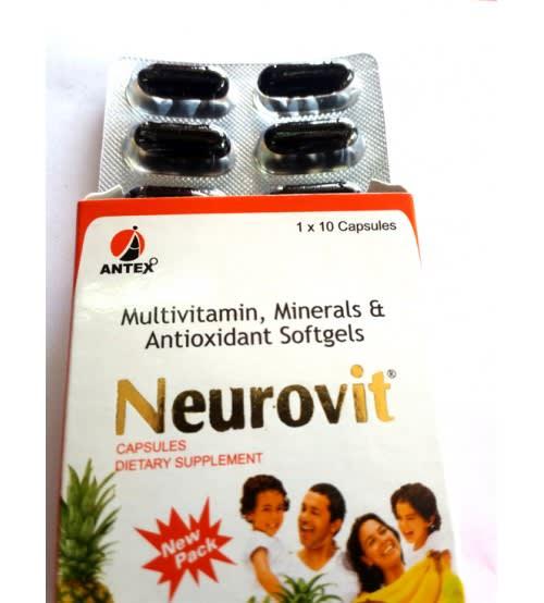 Neurovit Soft Gelatin Capsule