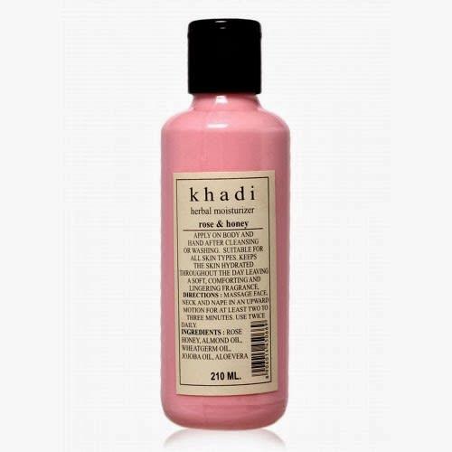 Khadi Rose Honey Herbal Moisturizer