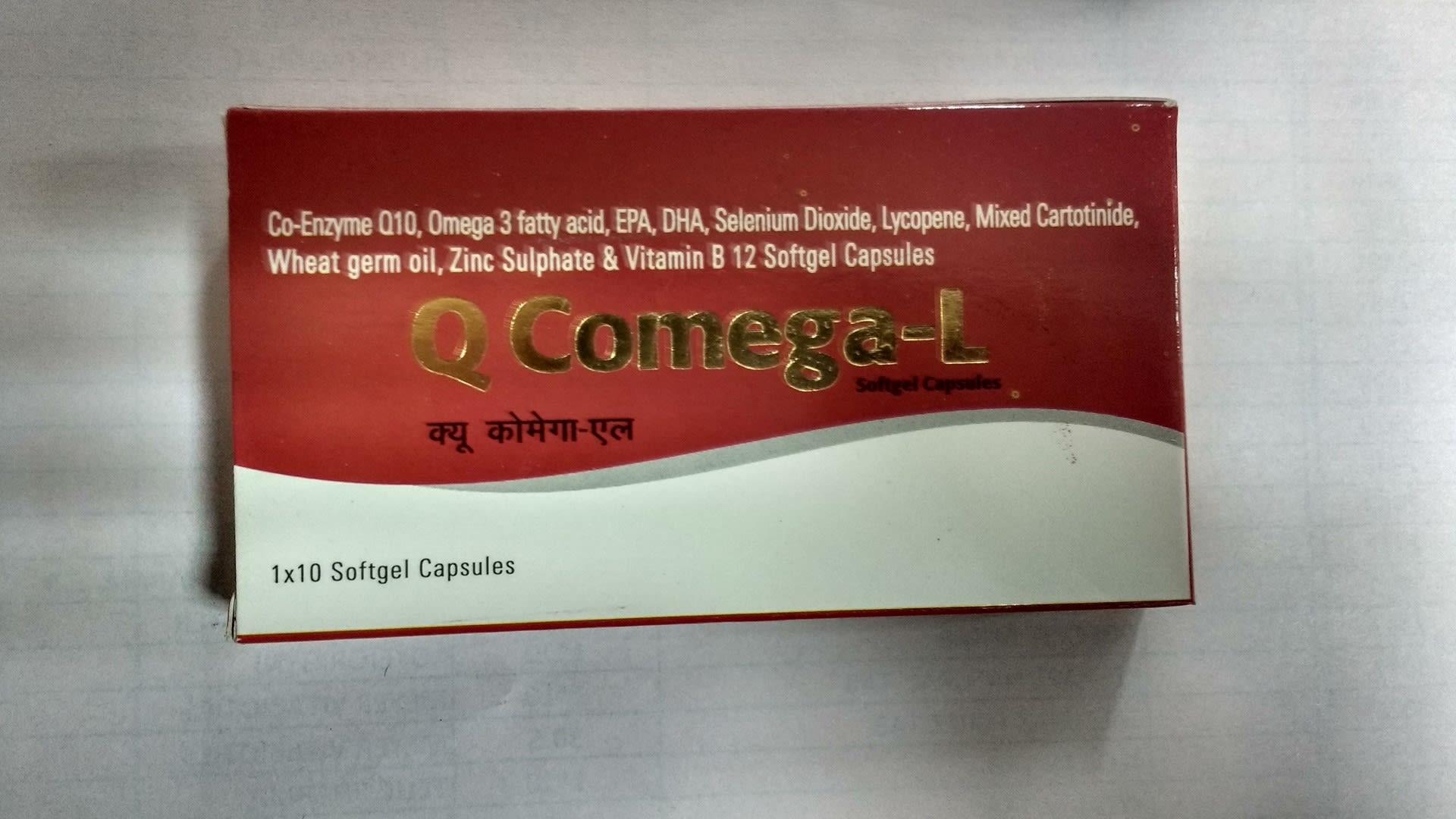 Q Comega -L Soft Gelatin Capsule