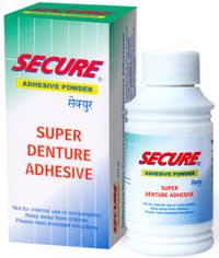 Secure Adhesive Powder