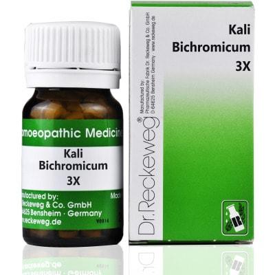 Dr. Reckeweg Kali Bichromicum Trituration Tablet 3X