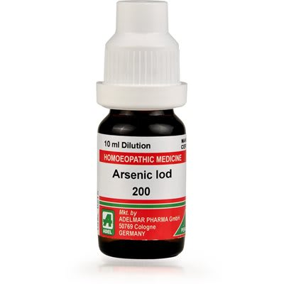 ADEL Arsenic Iod Dilution 200 CH