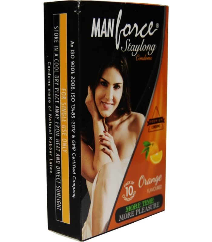 Manforce Staylong Condom Orange