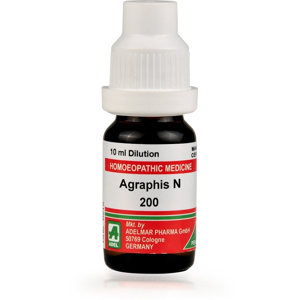 ADEL Agraphis N Dilution 200 CH