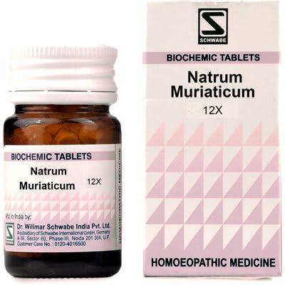 Dr Willmar Schwabe Natrum Muriaticum Biochemic Tablet 12X