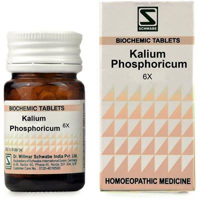 Dr Willmar Schwabe Kalium Phosphoricum Biochemic Tablet 6X