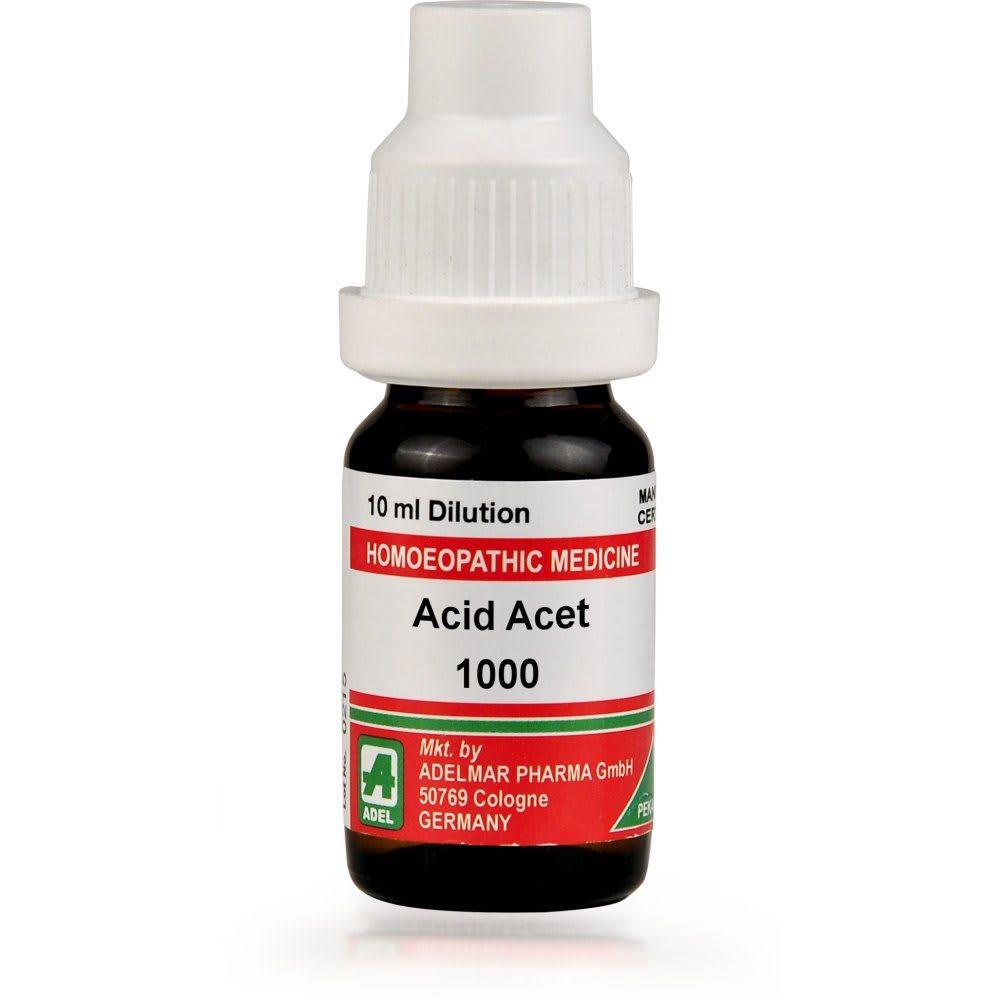 ADEL Acid Acet Dilution 1000 CH
