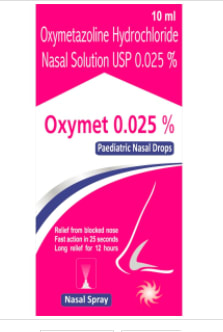 Oxymet Paediatric  Nasal Drops