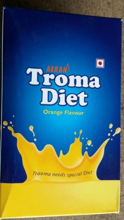 Troma Diet Powder Orange