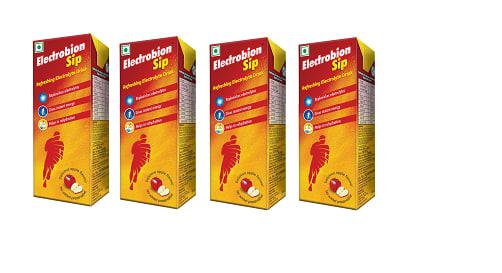 Electrobion Sip Apple Pack of 4