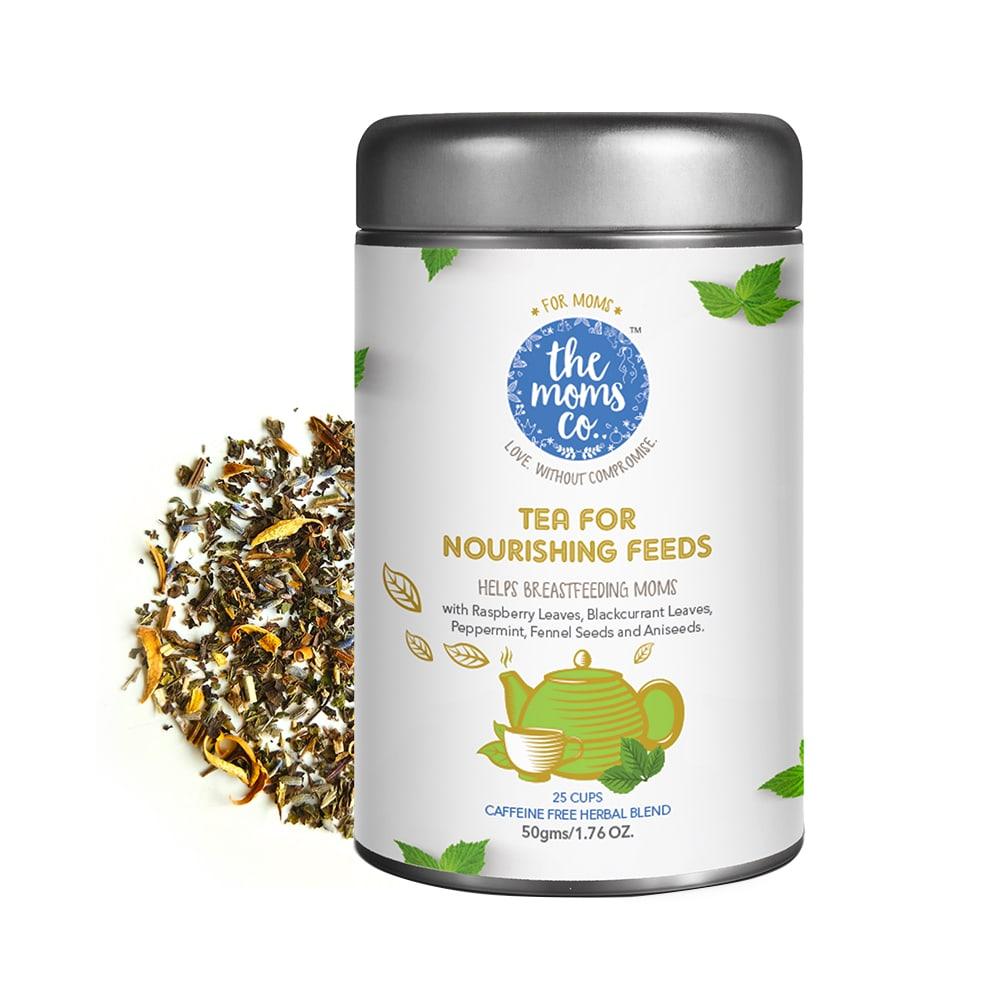 The Moms Co. Tea for Nourishing Feeds