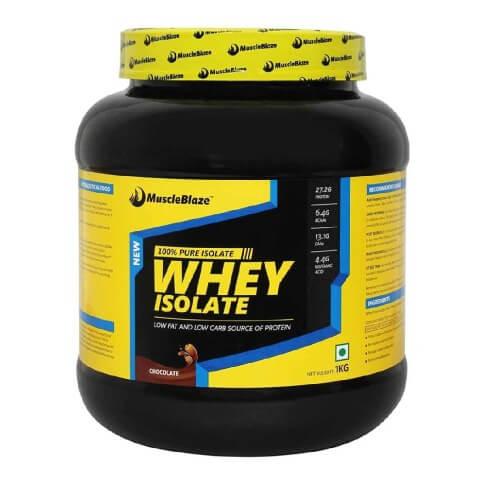 MuscleBlaze Whey Isolate Chocolate