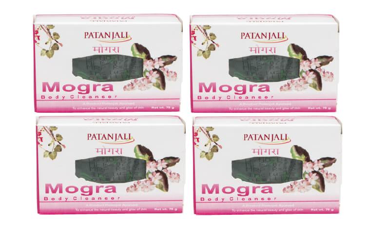 Patanjali Ayurveda Mogra Body Cleanser Pack of 4