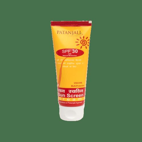 Patanjali Ayurveda Sun Screen   Cream
