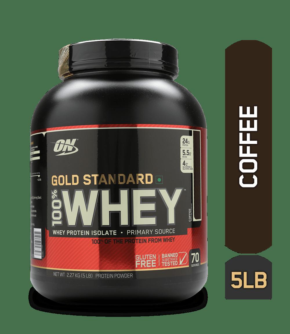 Optimum Nutrition (ON) Gold Standard 100% Whey Coffee