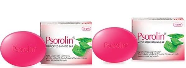 Dr. JRK Psorolin Medicated Bathing Bar Pack of 2