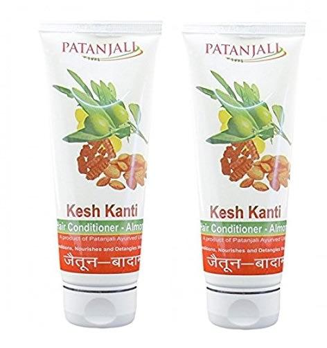 Patanjali Ayurveda Kesh Kanti Almond Olive Hair Conditioner Pack of 2