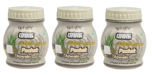 Patanjali Ayurveda Pachak Ajwain with Aloe Vera Pack of 3
