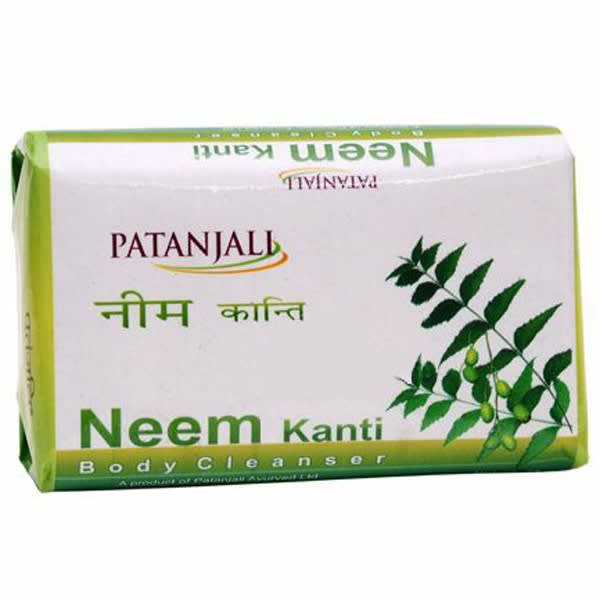 Patanjali Ayurveda Neem Kanti Body Cleanser Soap Pack of 5