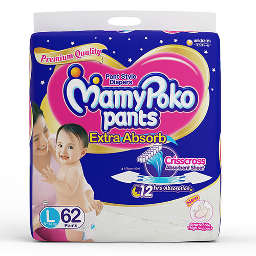 Mamy Poko Pants Extra Absorb Diaper L