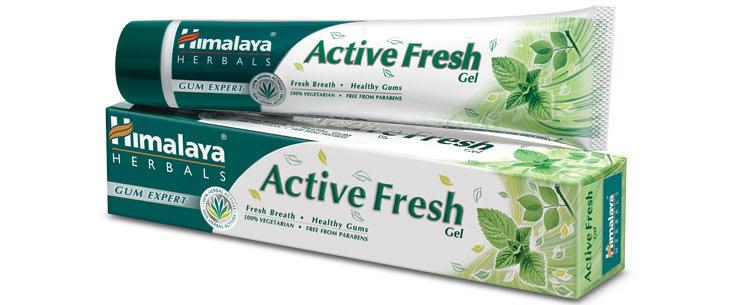 Himalaya Active Fresh Gel Toothpaste Pack of 2