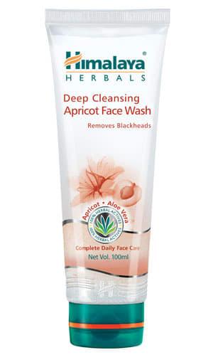 Himalaya Deep Cleansing Apricot Face Wash