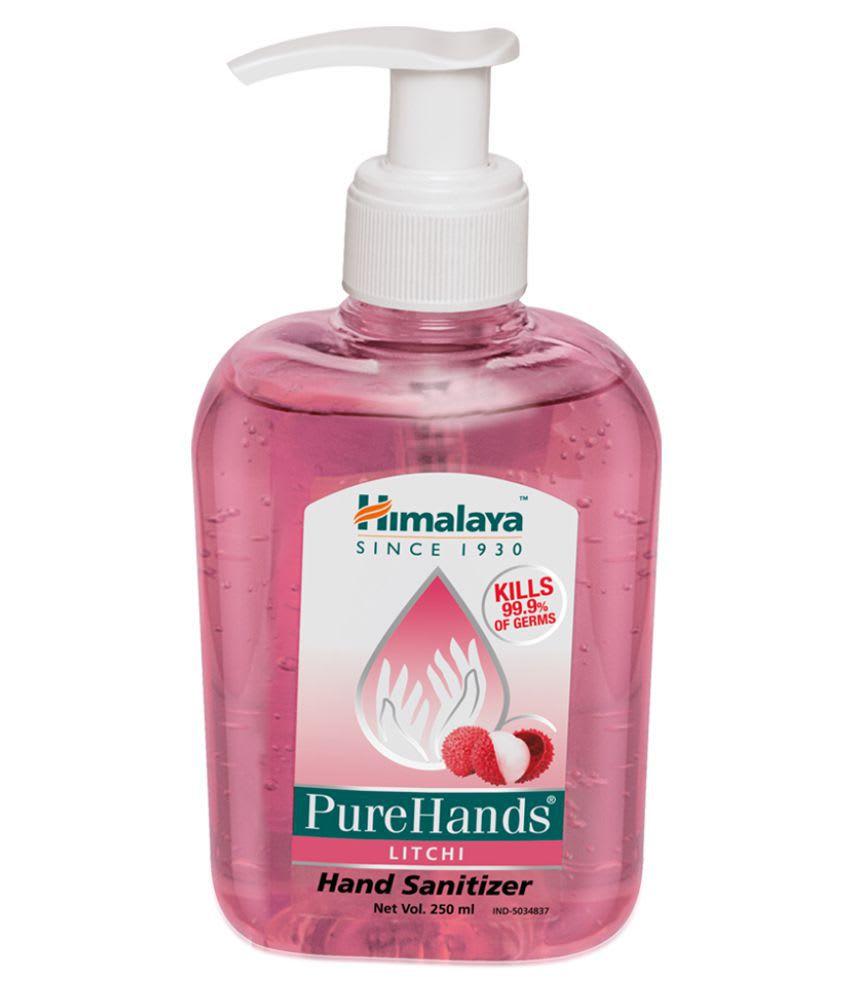 Himalaya Wellness Pure Hands Sanitizer Litchi