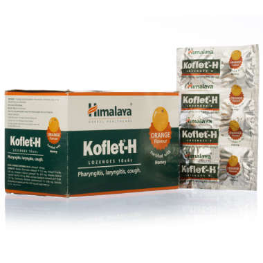 Himalaya Koflet-H Lozenges Orange Pack of 6