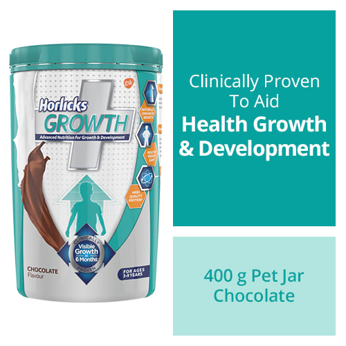 Horlicks Growth Plus Powder Chocolate