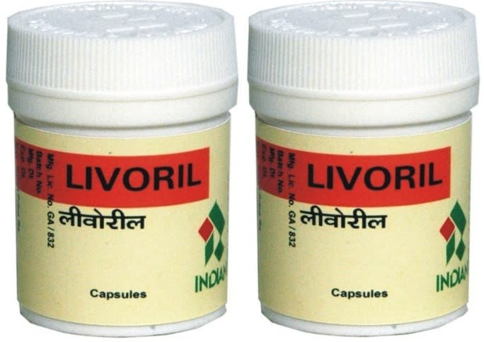 Indian Remedies Livoril Capsule Pack of 2