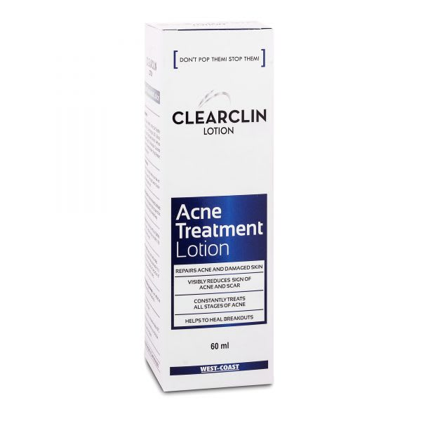Clearclin Acne Treatment Lotion