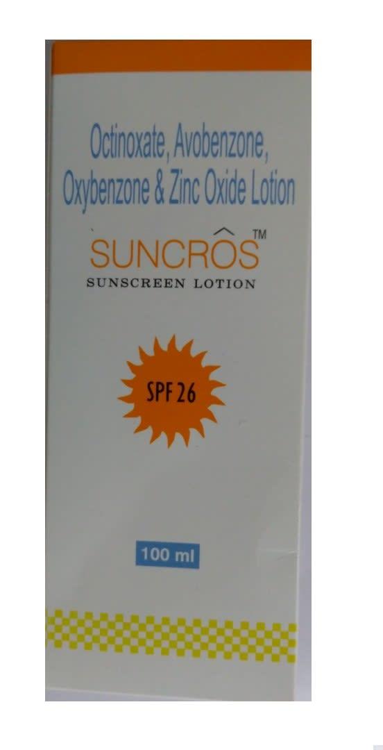 Suncros Sunscreen Lotion SPF 26