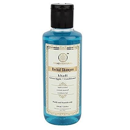 Khadi Naturals   Green Apple Shampoo