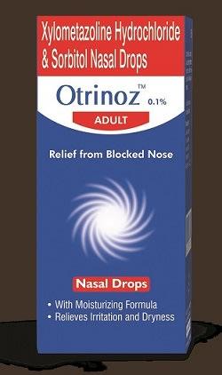 Otrinoz Adult 0.1% Nasal Drops