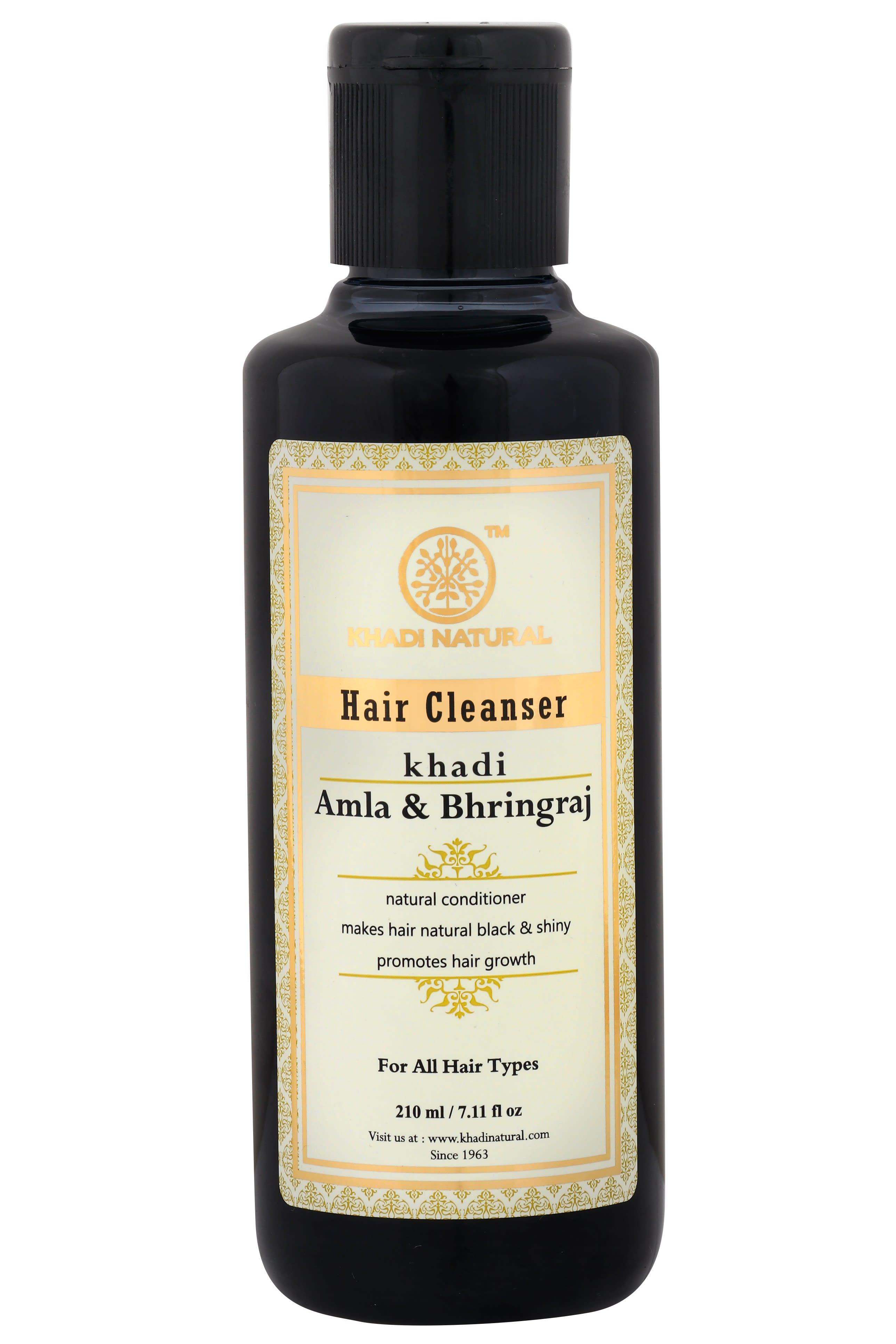 Khadi Naturals  Herbal Amla Bhringraj Shampoo