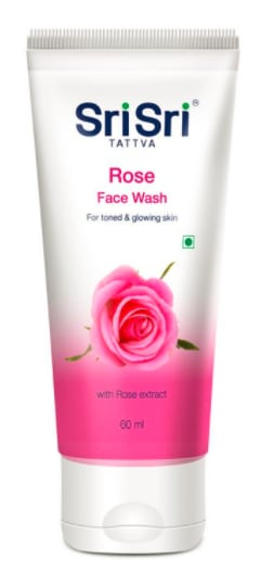 Sri Sri Tattva Rose Face Wash